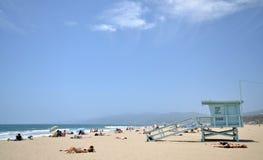 Snata Monica plaża Zdjęcia Stock