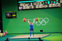 Snatch by Benjamin Hennequin at Rio2016 Stock Photography