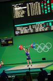 Snatch lifted by Kianoush Rostami at Rio2016 Stock Photography