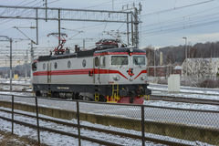 SNATTRANDE Rc2 008 för lokomotiv TÃ… Royaltyfri Fotografi