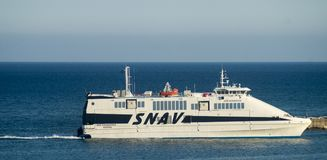 Snav hydrofoil stock photo
