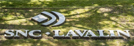 SNC Lavalin headquarters royalty free stock images