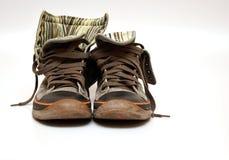Sneackers usados Fotos de Stock