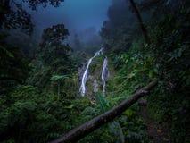 Sneak peek waterfall Stock Images