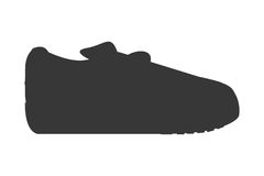 Sneaker without laces icon Royalty Free Stock Photo