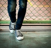 Sneaker shoe Stock Photo