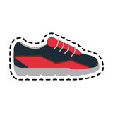 Sneaker shoes icon image Royalty Free Stock Photography