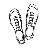 Sneaker shoes icon image Stock Photo