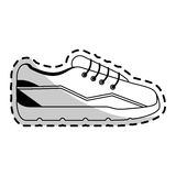 Sneaker shoes icon image Royalty Free Stock Photos