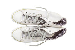Sneaker shoes Royalty Free Stock Images