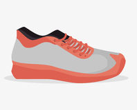 Sneaker sport gym icon Royalty Free Stock Images