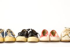 Sneakers Stock Photography
