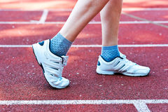 Sneakers obraz stock