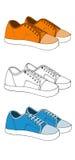 Sneakers1 Imagens de Stock Royalty Free