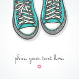 Sneakers Fotografia Stock