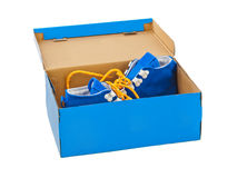 Sneakers in box Royalty Free Stock Image