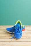 Sneakers - Fitness Concept Royalty Free Stock Photos