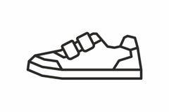 Sneakers icon Stock Photo