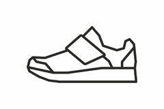 Sneakers icon Stock Images