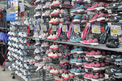 Sneakers sale Royalty Free Stock Images