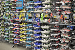 Sneakers sale Stock Photography