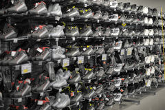 Sneakers sale Stock Image