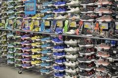 Sneakers sprzedaż Fotografia Stock