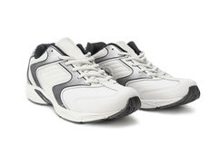 Sneakers. On a white background Stock Image