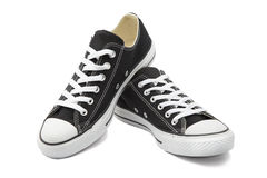 Sneakers on White Background stock images