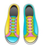 Sneakers. On a white background vector illustration