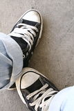 Sneakers2. Again my favorites shoes Royalty Free Stock Photography