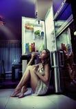 Sneaking da noite Imagem de Stock