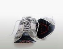 Sneakrer d'avions-écoles de chaussures de sports Photos stock