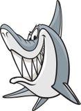 Sneaky акула иллюстрация вектора