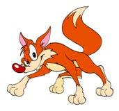 Sneaky красный Fox Стоковое Изображение RF