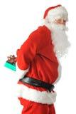 Sneaky Santa Stock Image