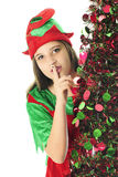 Sneaky Teen Elf Stock Photo
