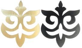 Sned dekorativa beståndsdelar Royaltyfria Foton