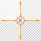 Sneda linjer av olik tjocklek vektor illustrationer