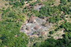 Snedstreck-och-bränn Arkivbild