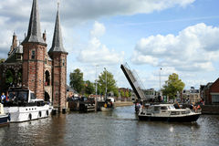 Sneek � Netherlands. Friesland province Royalty Free Stock Photos