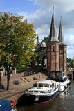 Sneek � Netherlands. Friesland province Royalty Free Stock Image
