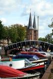 Sneek – Netherlands. Friesland province Stock Photos