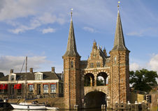 Sneek Waterpoort Royalty Free Stock Photos