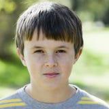 Sneering Boy Stock Image