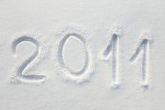 Sneeuw ?2011? Stock Foto's