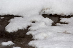 sneeuw Stock Afbeelding