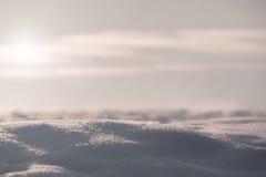 sneeuw abstracte natuurlijke achtergrond Royalty-vrije Stock Afbeelding