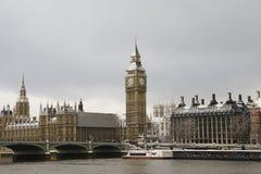 Sneeuw Behandeld Westminster royalty-vrije stock foto's