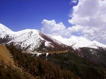 Sneeuw berg Stock Afbeelding